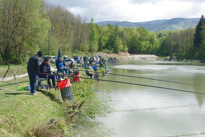 LokalnaHrvatska.hr Stubičke Toplice 9. Kup Opcine Stubicke Toplice u lovu ribe udicom na plovak, 23. travnja 2017.g.
